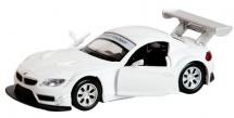 Машинка Пламенный мотор По дорогам мира BMW Z4 GT3, белый