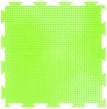 Массажный коврик Орто Трава мягкий 25x25 см, салатовый