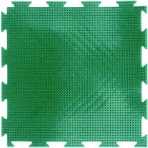 """Массажный коврик Орто """"Трава"""" мягкий 25x25 см, зеленый"""