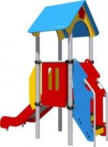 Детская площадка Romana домик и горка