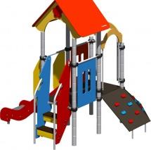 Детская площадка Romana горка и скалодром