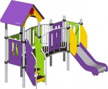 Детская площадка Romana горка и мостик