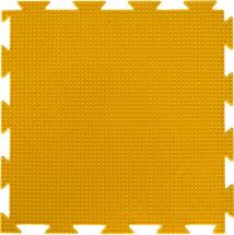 Массажный коврик Орто Трава мягкий 25x25 см, желтый