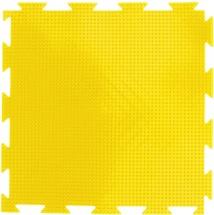 """Массажный коврик Орто """"Трава"""" мягкий 25x25 см, желтый"""