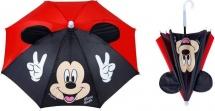 Зонт Disney Микки Маус с руками и ушками d=51 см