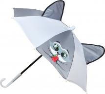 Зонт Енот с ушами d=52 см механический