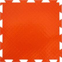 Массажный коврик Орто Трава мягкий 25x25 см, оранжевый