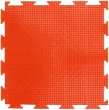 """Массажный коврик Орто """"Трава"""" мягкий 25x25 см, оранжевый"""