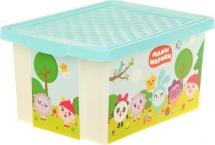 Ящик Пластик-центр Малышарики для хранения игрушек 17 л