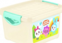 Ящик Пластик-центр Малышарики для хранения мелочей 5,1 л