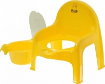 Горшок-стульчик Полимербыт желтый