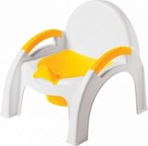Горшок-стульчик, желтый, Бытпласт