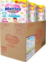 Набор трусиков Merries M (6-11 кг) 3 пачки по 58 шт