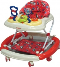 Ходунки Baby Care Aveo, красный (Red)