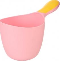 Ковшик для купания малыша, розовый