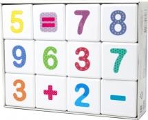 Кубики Десятое королевство Веселая арифметика 12 шт