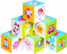 Кубики Мякиши Малышарики Предметики