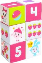 Кубики Мякиши Малышарики Учим формы, цвет и счет