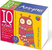 Умные кубики Айрис-пресс Уши, лапы и хвосты 50 игр для развития интеллекта