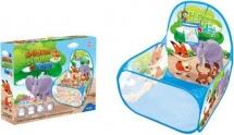 Сухой бассейн Зверята 60 шаров в комплекте