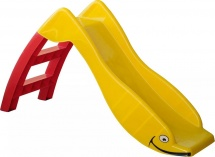 Горка PalPlay пластмассовая красный, желтый