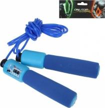 Скакалка Onlitop со счетчиком синие ручки