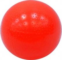 Мяч d=200 мм Спорт лакированный, красный