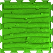 Массажный коврик Орто Лесенка жесткий 25x25 см, салатовый