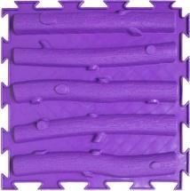 Массажный коврик Орто Лесенка жесткий 25x25 см, фиолетовый