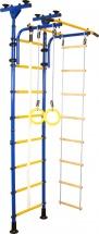Шведская стенка Юный атлет Пол-потолок, синий