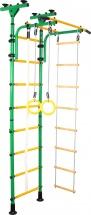 Шведская стенка Юный атлет Пол-потолок, зеленый