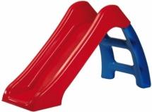 Горка Пластик-центр, красный скат синяя лесенка 70 см
