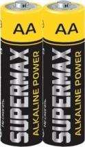 Батарейка Supermax AA LR06 алкалиновая 1 шт
