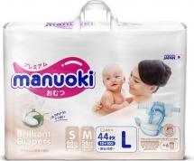 Подгузники Manuoki Brilliance L (12+ кг) 44 шт