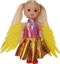Куколка Little Zu Фея, желтые крылья