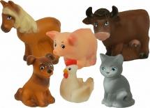 Игрушки для купания Весна Домашние животные