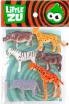 Фигурка Little Zu Набор Дикие животные №2