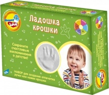 Набор для детского творчества Dream Makers Ладошка крошки