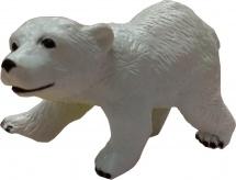 Фигурка Little Zu Дикие животные Белый мишка