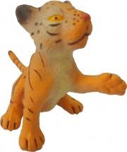 Фигурка Little Zu Дикие животные Тигренок с лапкой