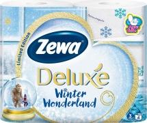 Туалетная бумага Zewa Deluxe Белая 3 слоя 4 рулона