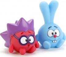 Игрушки для купания Играем вместе Смешарики. Крош и Ежик