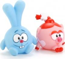 Игрушки для купания Играем вместе Смешарики. Крош и Нюша