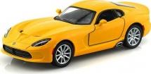 Машинка Kinsmart Dodge Viper SRT 2013, желтый