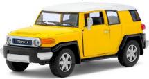 Машинка Kinsmart Тойота FJ Cruiser, желтый