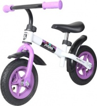 Беговел Moby kids KidRun 10 с надувными колесами фиолетовый