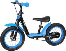 Беговел Moby kids KidRun 12 с надувными колесами синий