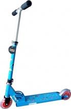 Самокат X-Match Cute со светящимися колесами до 50 кг, синий