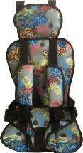Автокресло бескаркасное Berry Стандарт 9-36 кг Граффити