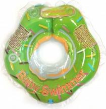 Круг на шею Baby Swimmer Гламур Пончик Мята 3-12 кг